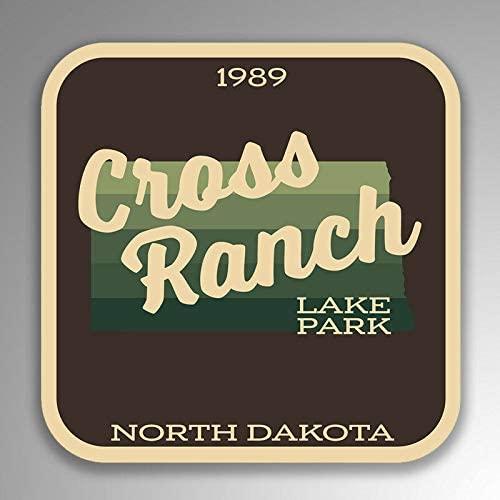 JB Print Cross Ranch Lake Park Explore Wanderlust Camping Hiking Vinyl Decal Sticker Car Waterproof Car Decal Bumper Sticker 5