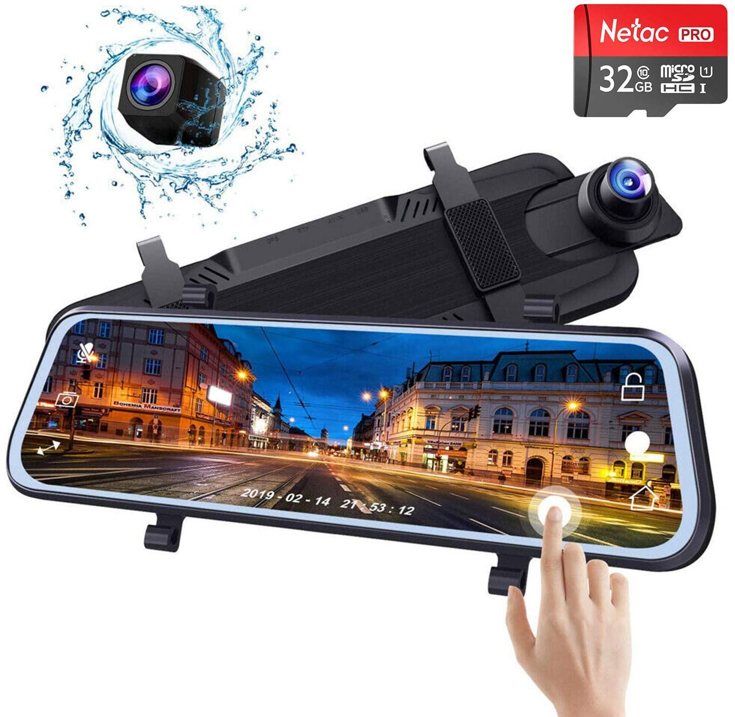 Mirror Backup Dash Camera Dual 10