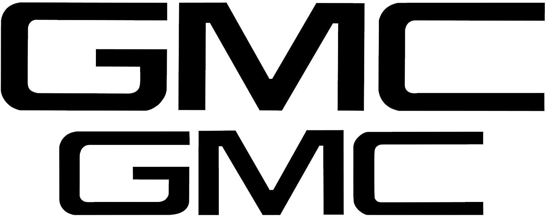 GMC Sierra Emblem Overlay - Precut Front and Rear Set (2019-2020 Sierra 1500, Gloss White)