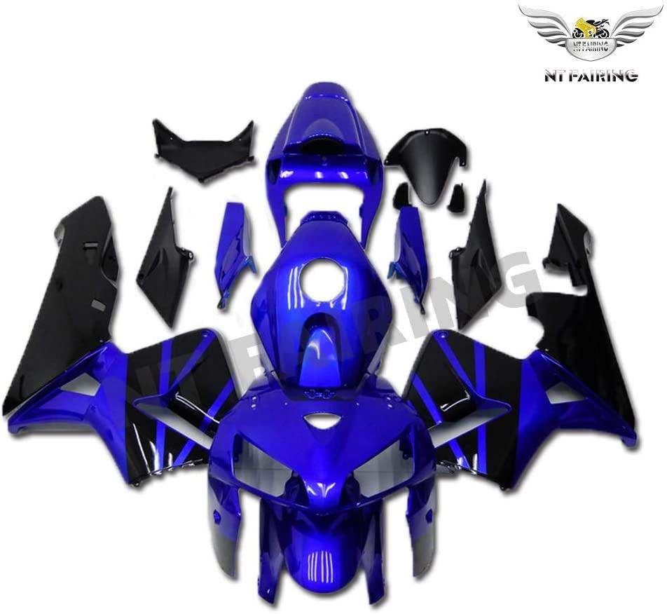 NT FAIRING Blue Black Fairing Fit for HONDA 2005 2006 CBR600RR CBR 600RR New Injection Mold ABS Plastics Bodywork Body Kit Bodyframe Body Work 05 06