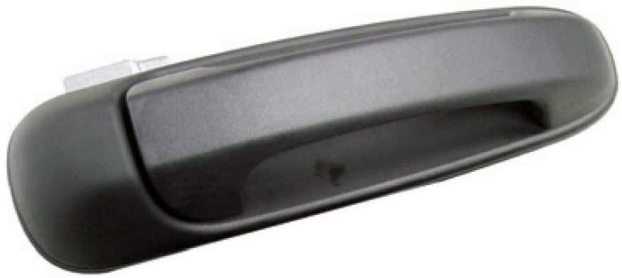 For DODGE RAM 2500 Door Handle 2005-2009 Exterior   Front Passenger Side (Texture/Black Finish)   W/O KeyHole