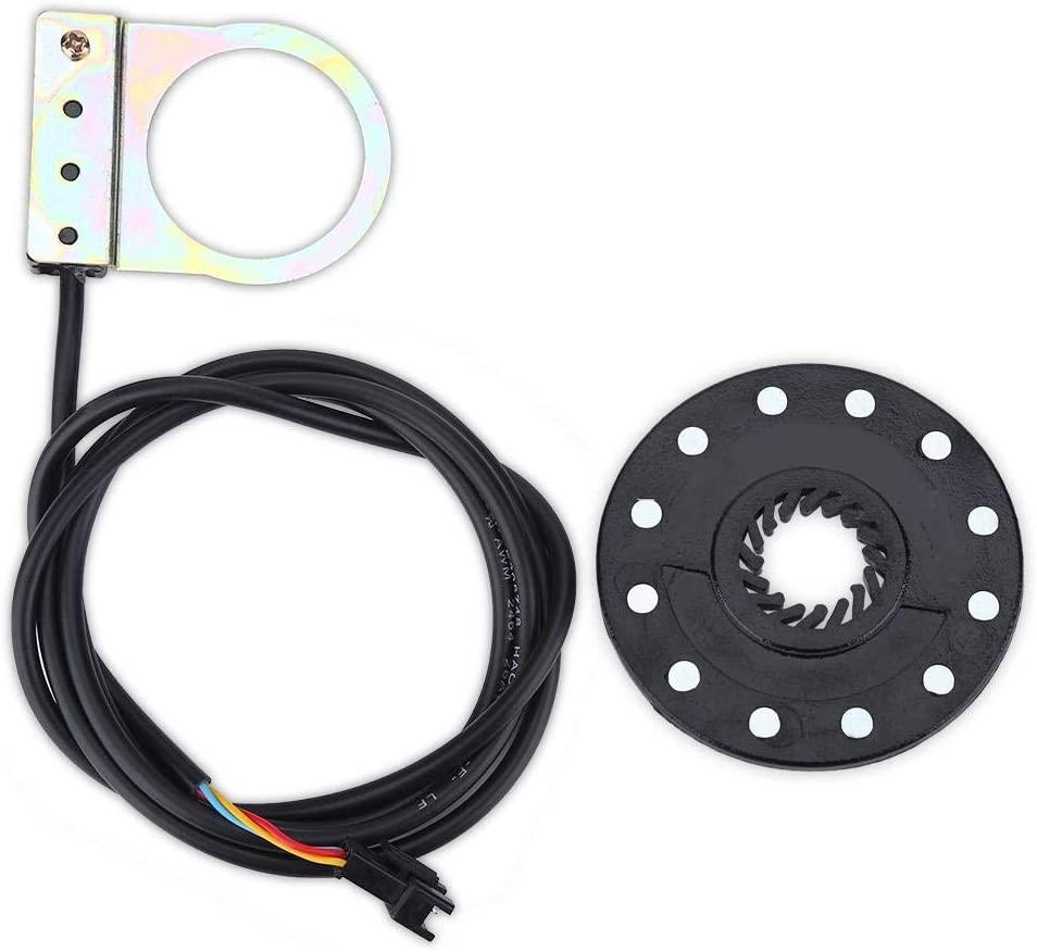 maxmartt Assistant Sensor,Electric Bicycle Pedal 12 Magnets E-Bike PAS System Assistant Sensor S-Peed Sensor