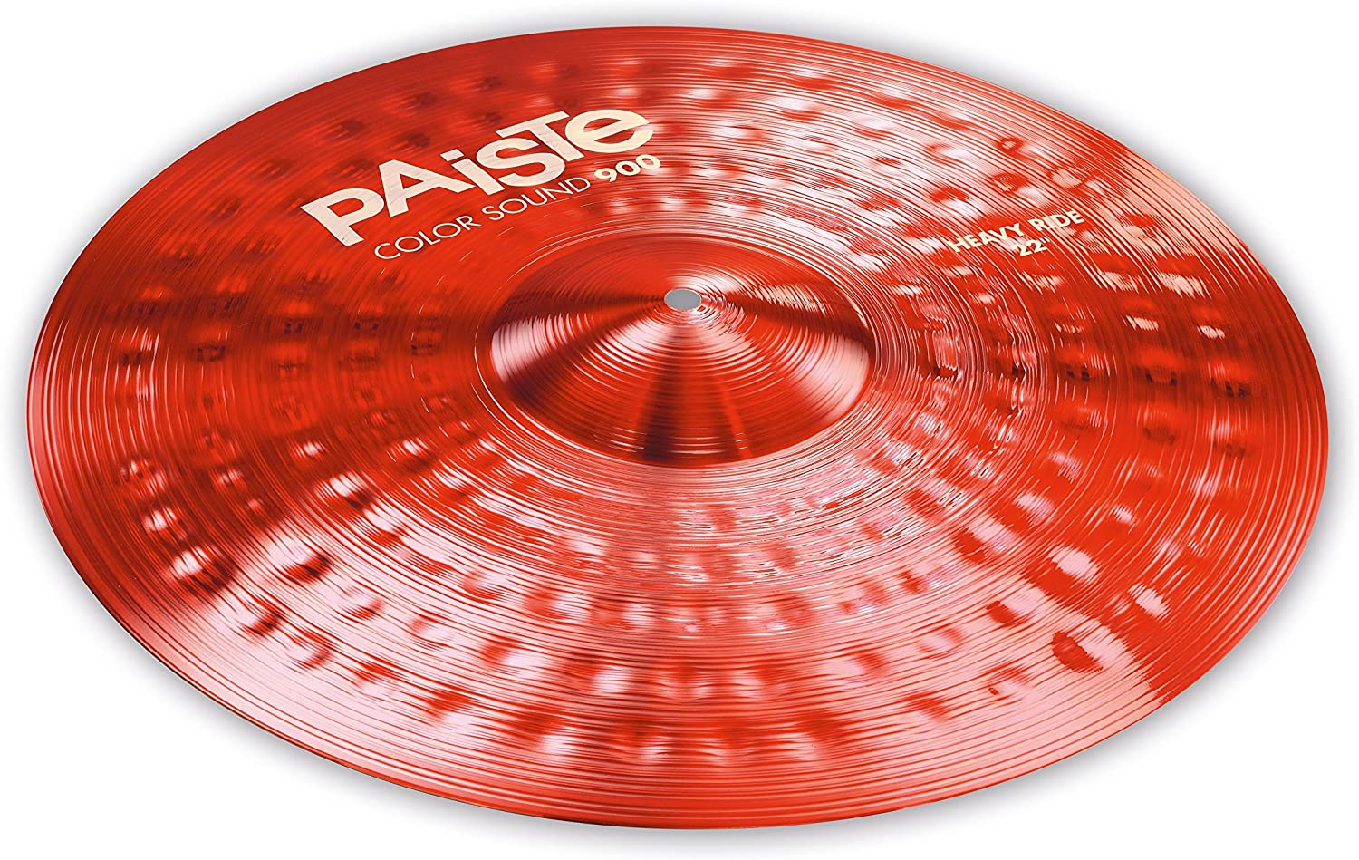 Paiste Colorsound 900 Heavy Ride Cymbal Red 22 in.