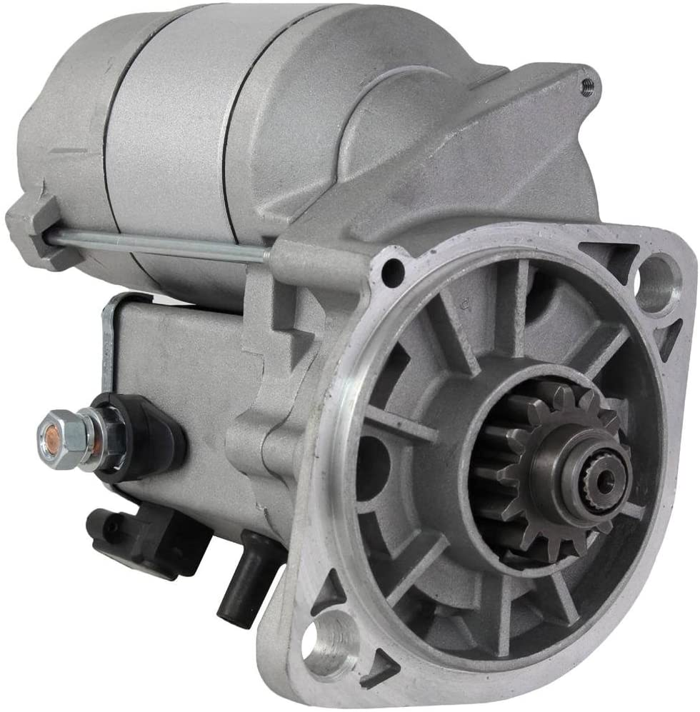 Rareelectrical NEW STARTER MOTOR COMPATIBLE WITH JOHN DEERE MOWER WIDE AREA 1600 1620 228000-3730