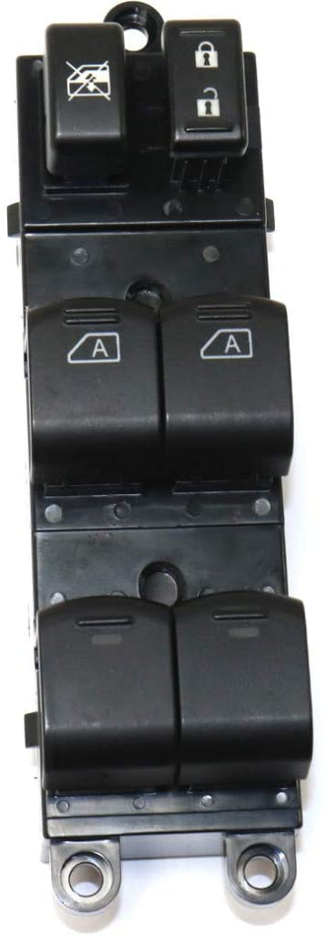 For Nissan Titan Window Switch 2004-2015 Driver Side   Front   Black