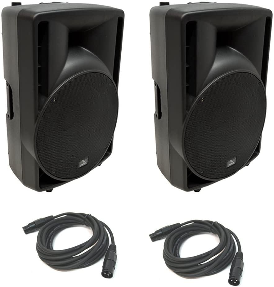 (2) Harmony Audio HA-C15A Pro DJ 15