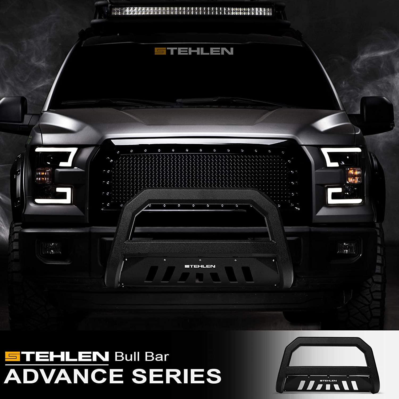 Stehlen 642167817826 Advance Series Bull Bar - Textured Black For 2011-2016 Ford F250 / F350 / F450 / F550 Superduty