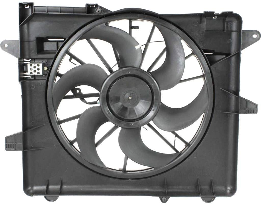 For Ford Mustang A/C Radiator Fan Assembly 2005-2013 For FO3115152 | BR3Z8C607A
