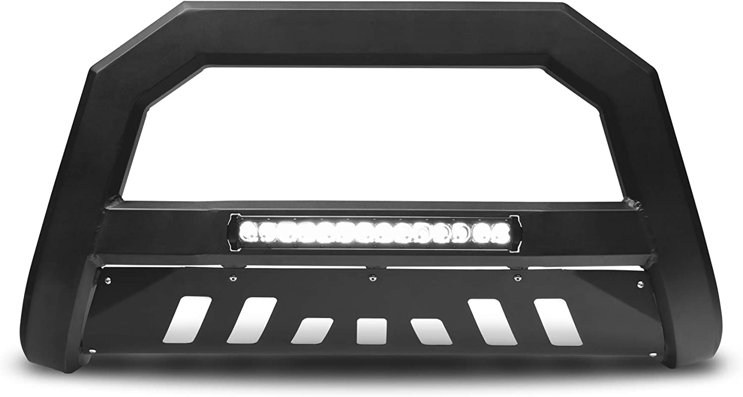 Armordillo USA 7176508 AR Series Bull Bar W/LED Fits 2002-2009 GMC Envoy/Envoy XL - Matte Black