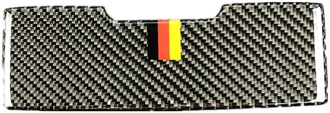 hors Carbon Fiber Sunglasses Case Holder Glasses Storage Box Frame Decal Cover Trim for Mercedes Benz GLC C Class C180 C200 C220 C250 W205 BCC014 (German Flag)