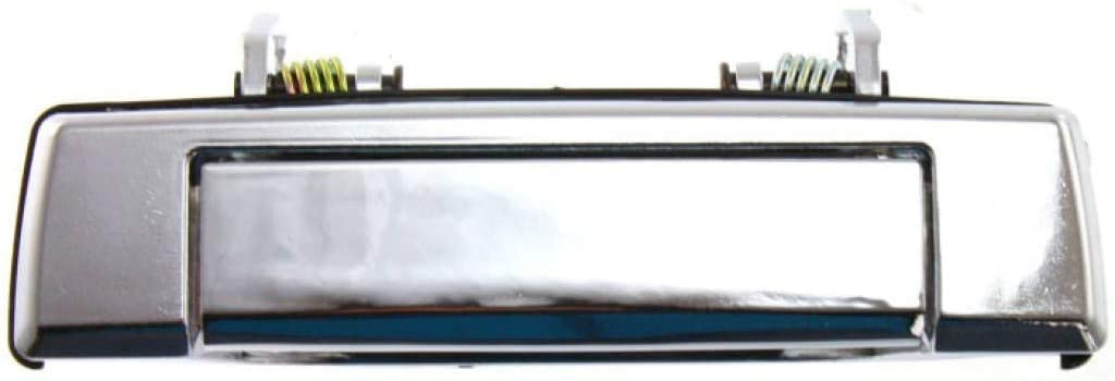 For Mazda B2200 Exterior Door Handle Front, Passenger Side Chrome (1987-1993) | Without Key Hole| Trim:All Submodels