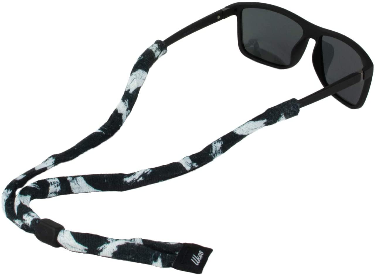 Ukes Premium Sunglass Strap - Durable & Soft Eyewear Retainer Designed with Cotton Material - Secure fit for Your Glasses and Eyewear. (The Painters)