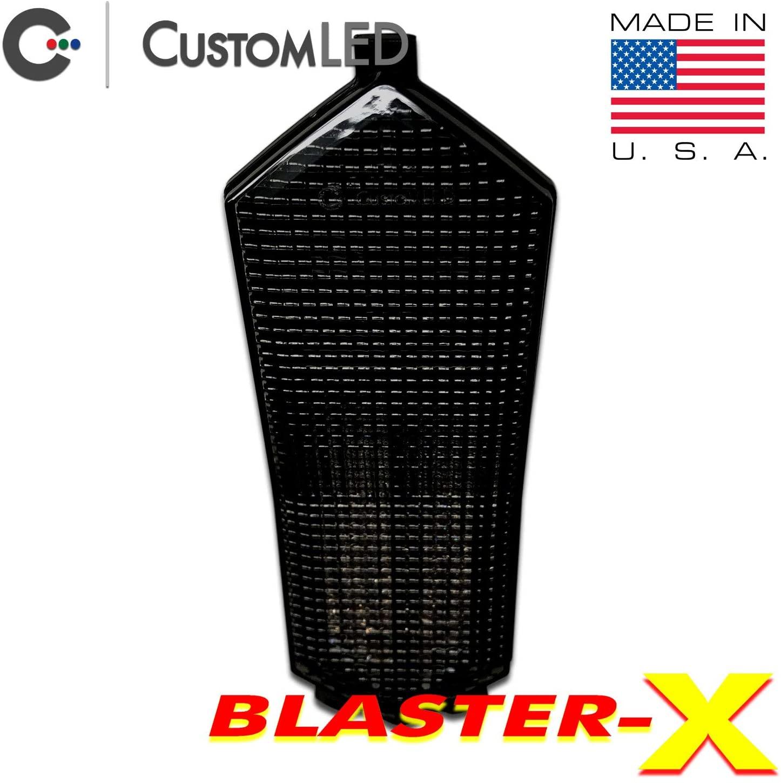 2015-2020 Yamaha YZF-R1 Blaster-X Integrated LED Tail Light - Smoked Lens