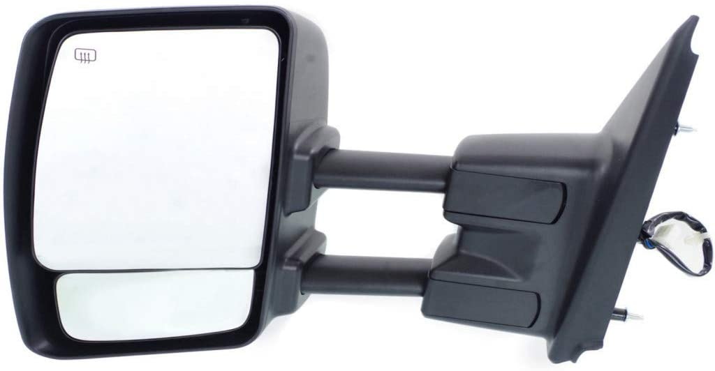 For Nissan NV1500 / NV2500 / NV3500 Towing Mirror 2012-2018 Driver Side Manual Folding | Power | Heated | Towing | w/o Signal Light | Chrome For NI1320222 | 963021PA3E