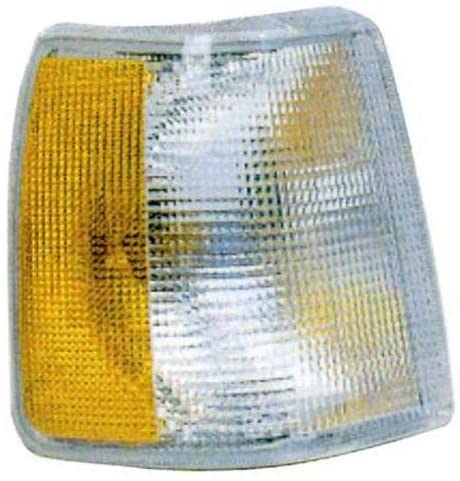 Go-Parts - for 1991 - 1995 Volvo 940 Parking Light Assembly / Lens Cover - Left (Driver) Side 1369609-1 VO2520105 Replacement 1992 1993 1994