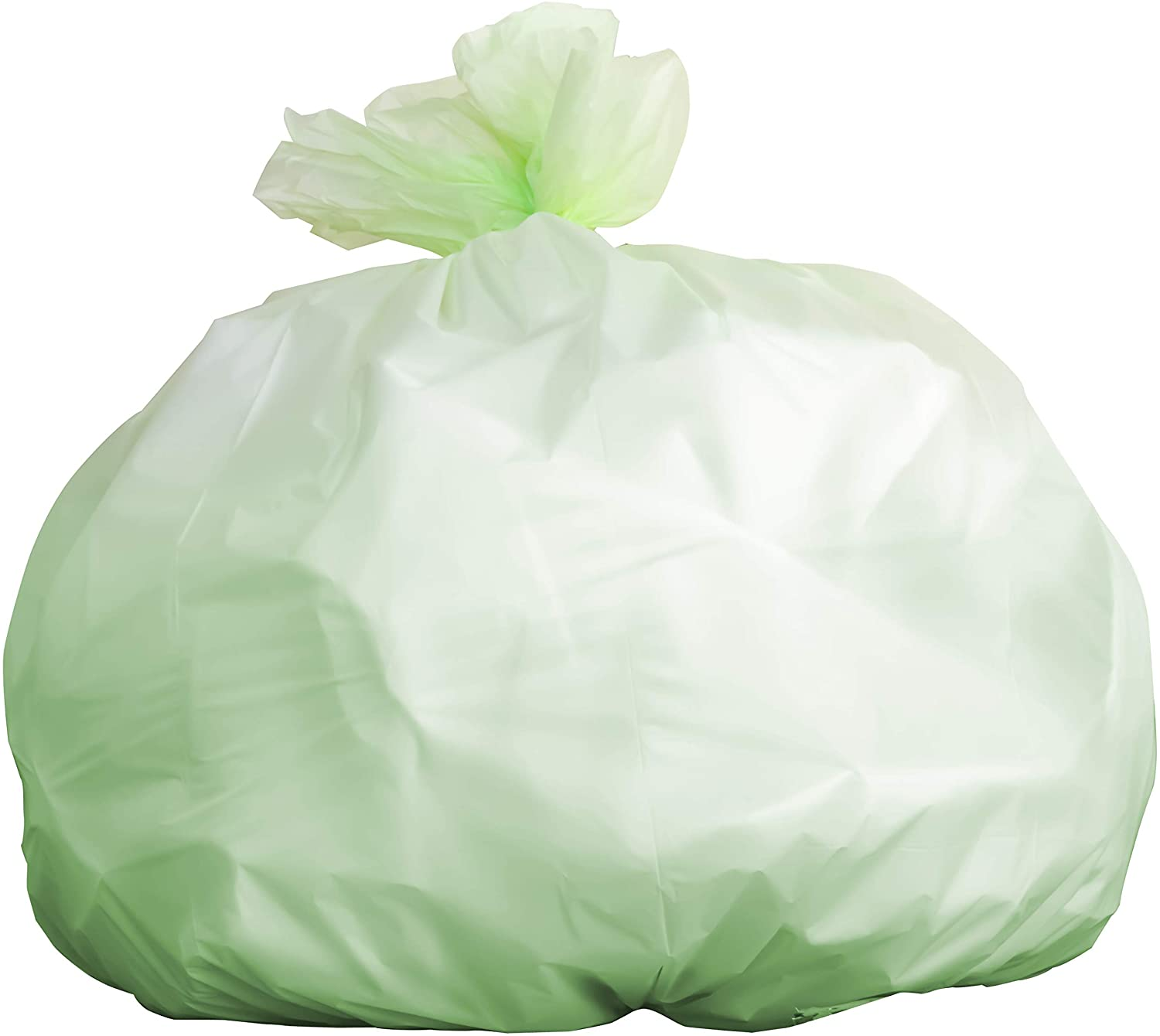 Biodegradable Tall 13 Gallon Garbage Bags 20 Ct. ASTM D6400 and BPI-Certified Compostable Trash Can Liners. Hefty for Kitchen Food Scraps and Compost Bins. Eco-Friendly and Plant-Based for Green Homes