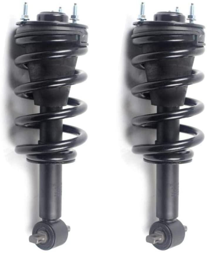 2pcs Front Left+Right Side Complete Strut & Spring Shock Absorber for 2007-2013 Silverado 1500 & 2007-2013 Sierra 1500