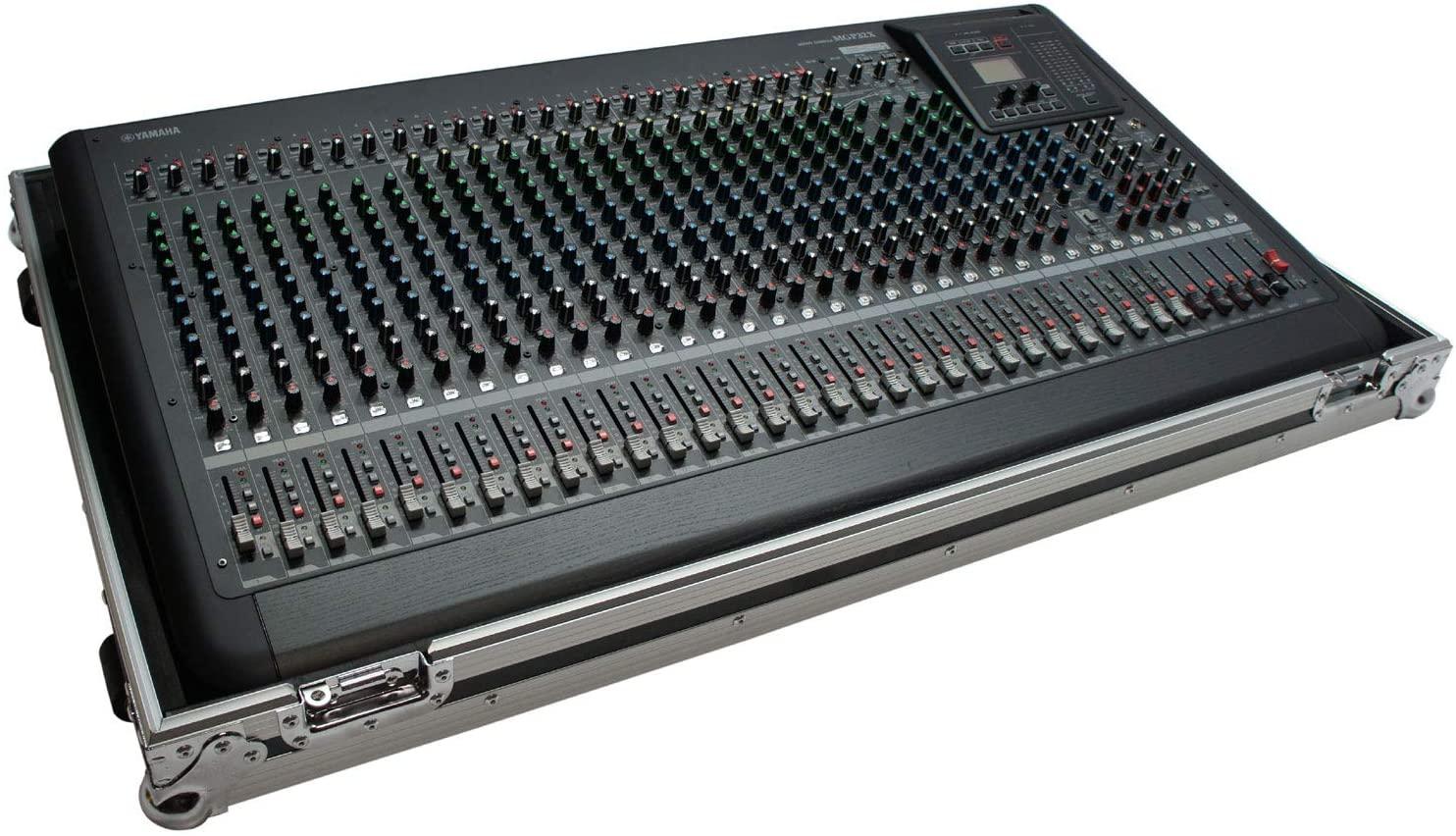 Harmony HCMGP32 Flight Transport Road Custom Audio Case Compatible with Yamaha MGP32X Mixer