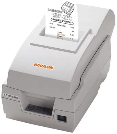 Samsung Kps SRP270D Impact Receipt Printer Par Ivory Ac Jtu