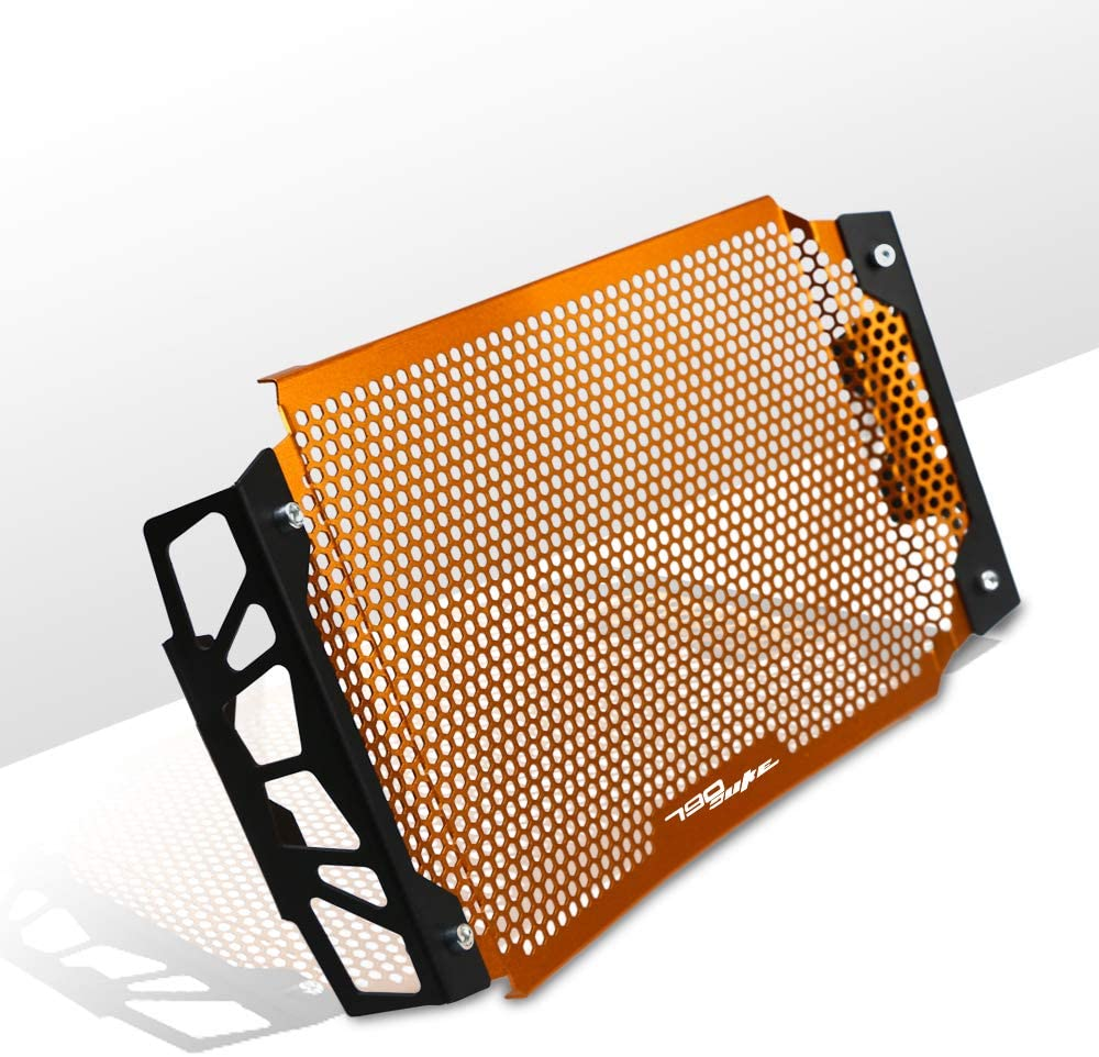 COPART Motorcycle Radiator Grille Guard Cover Protector for KTM Duke 790 2018 2019(Orange)