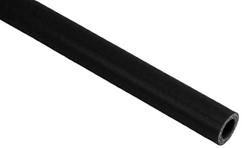 Pegasus SHL16-BLACK, Black Silicone Hose, Straight, 5/8 inch ID, 1 Meter Length (no logo)