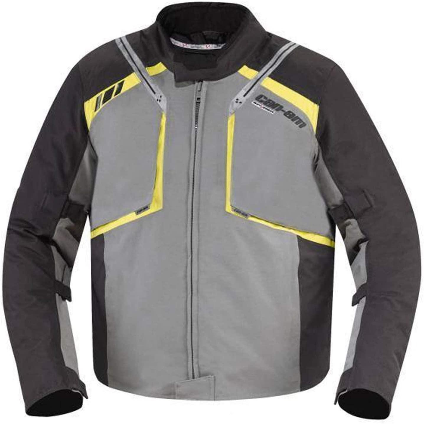 Can Am Roadster Mens Caliber Jacket Charcoal Grey XL