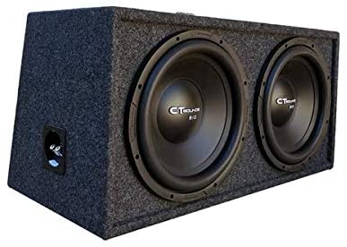 CT SOUNDS Dual 10 Inch Ported Car Bass Package � 600W True RMS / 1200W Peak Power, Dual 4 Ohm Impedance, 2