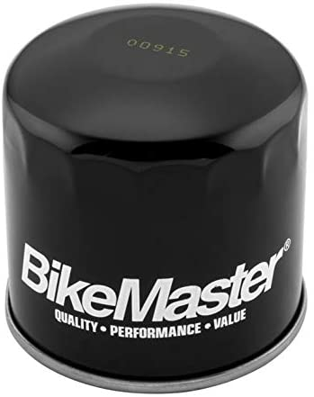 BikeMaster Black Oil Filter for Suzuki GV1200 Madura 1985-1986