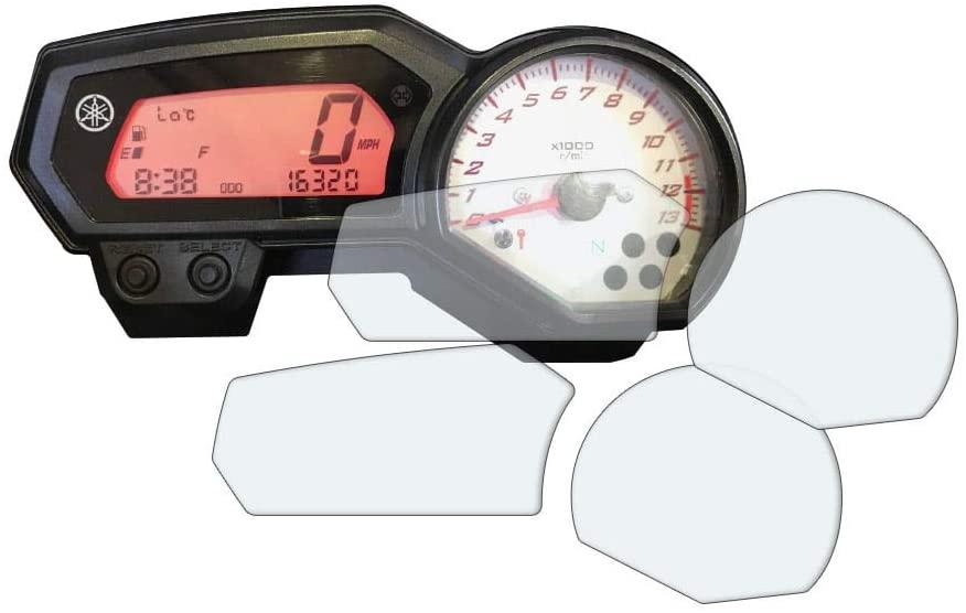 Speedo Angels Dashboard Screen Protector for YAMAHA FZ8 FAZER (2010+) - 1 x Ultra Clear & 1 x Anti Glare
