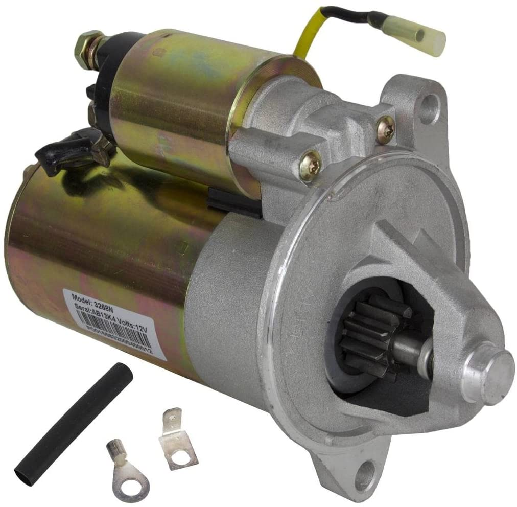 Rareelectrical STARTER MOTOR COMPATIBLE WITH CRUSADER MARINE INBOARD STERNDRIVE 70110 3854190-0 835635-4
