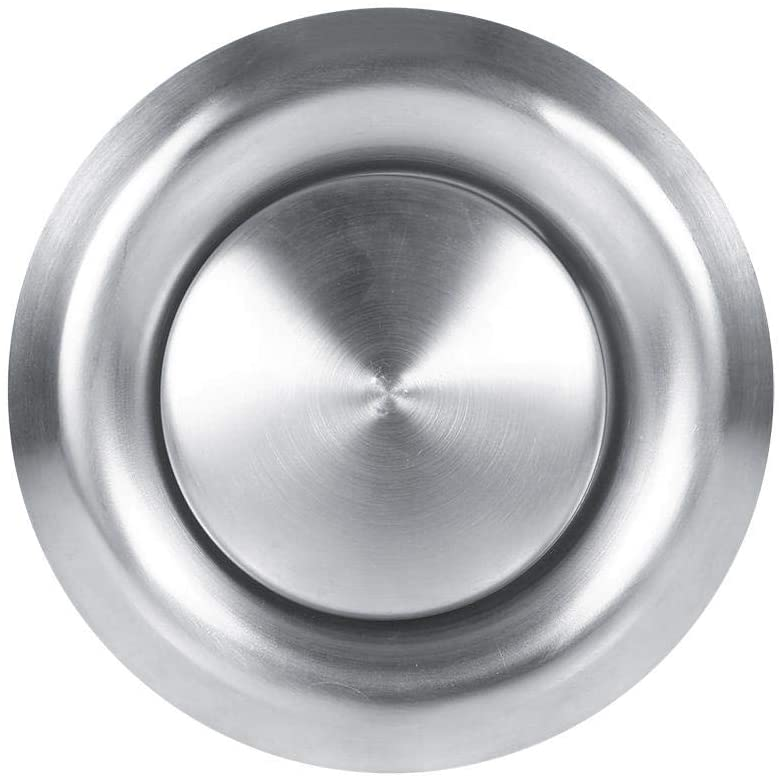 Gorgeri House Air Vent,3 Sizes Adjustable Wall Ceiling Home Stainless Steel Air Vent Round Ventilation Duct Cover New(100mm)