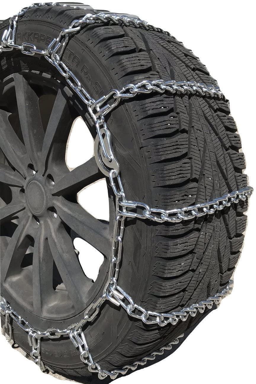 TireChain.com Compatible with Dodge Ram 3500 SLT 4x4 Quad Cab 2009 LT265/70R17 Load Range E Tire Chains
