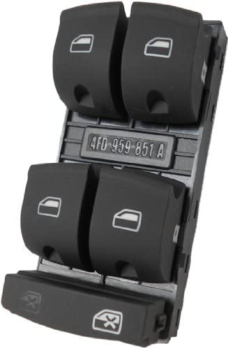 SWITCHDOCTOR Window Master Switch for 2010-2012 Audi Q7