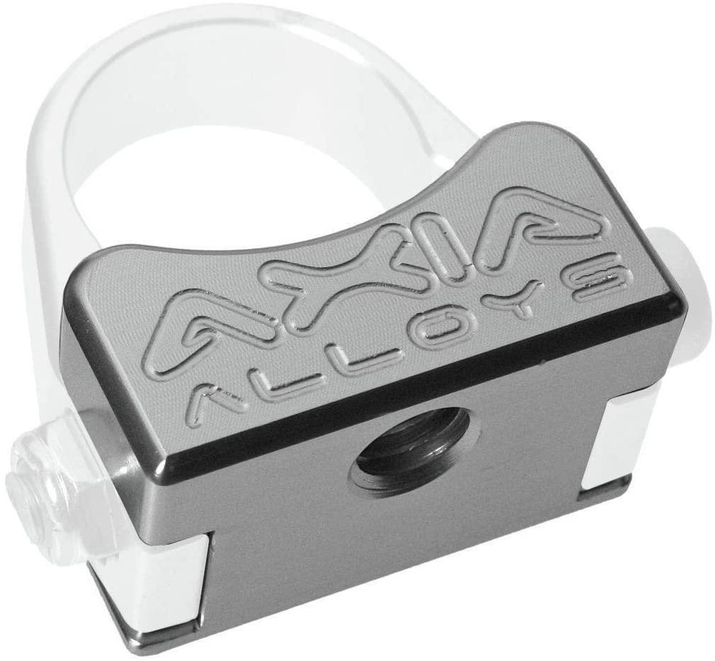 Axia Alloys Universal Mount (3/8in - 16 Female Thread) (Silver)