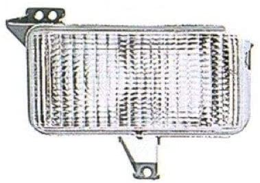 Go-Parts - for 1983 - 1991 Chevrolet K20 Suburban Parking Light Assembly / Lens Cover - Left (Driver) Side 915908 GM2520122 Replacement 1984 1985 1986 1987 1988 1989 1990