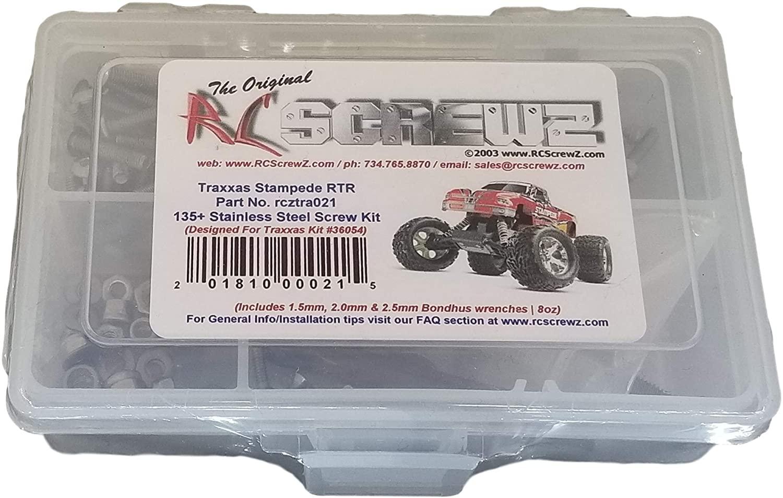 RCScrewZ Traxxas Stampede XL-5 Stainless Steel Screw Kit - for Traxxas Kit 36054 - tra021