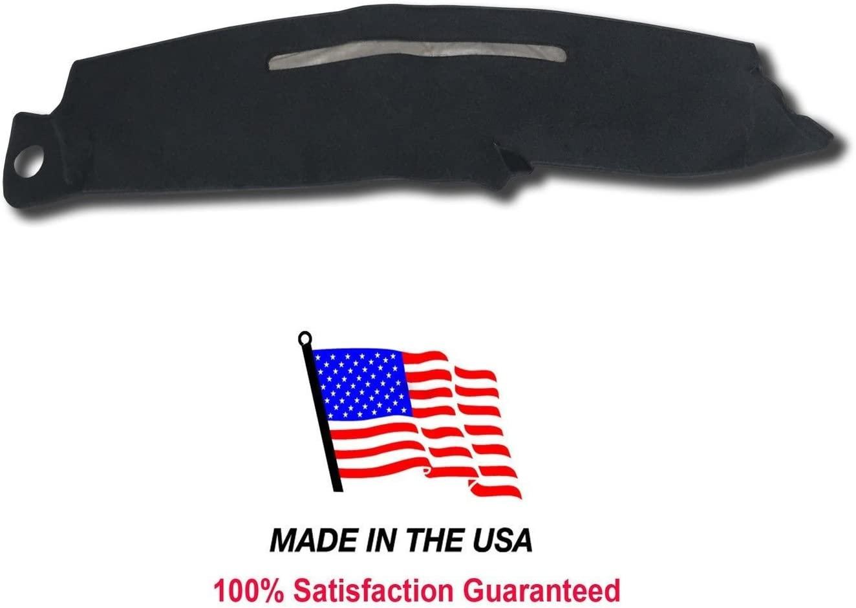 1997-1999 GMC Sierra Dash Cover Mat Pad Carpet CH75 (Black)