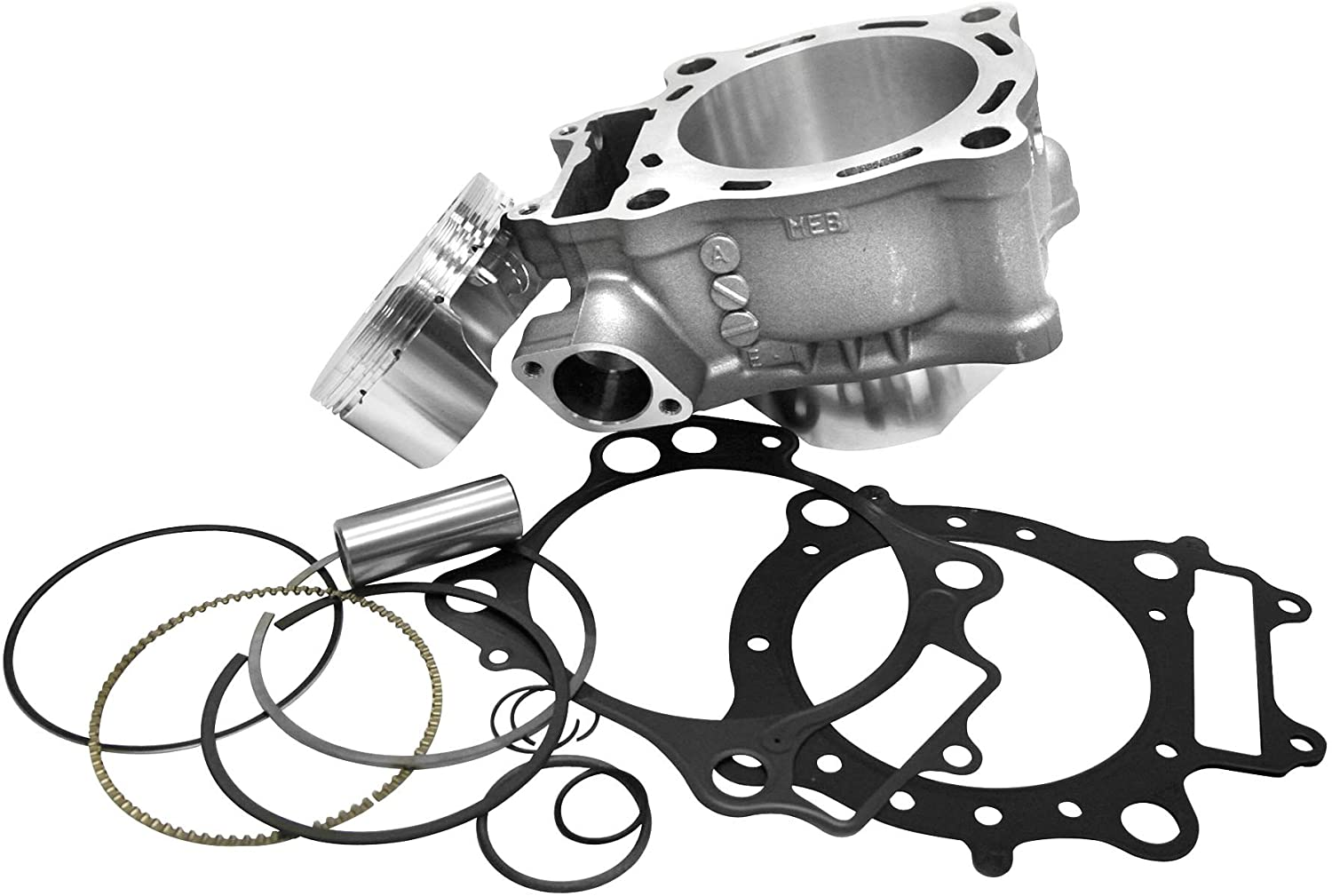 Cylinder Works 20002-K01HC Standard Bore HC Cylinder Kit - 77.00mm Bore, 13.5:1 High Compression