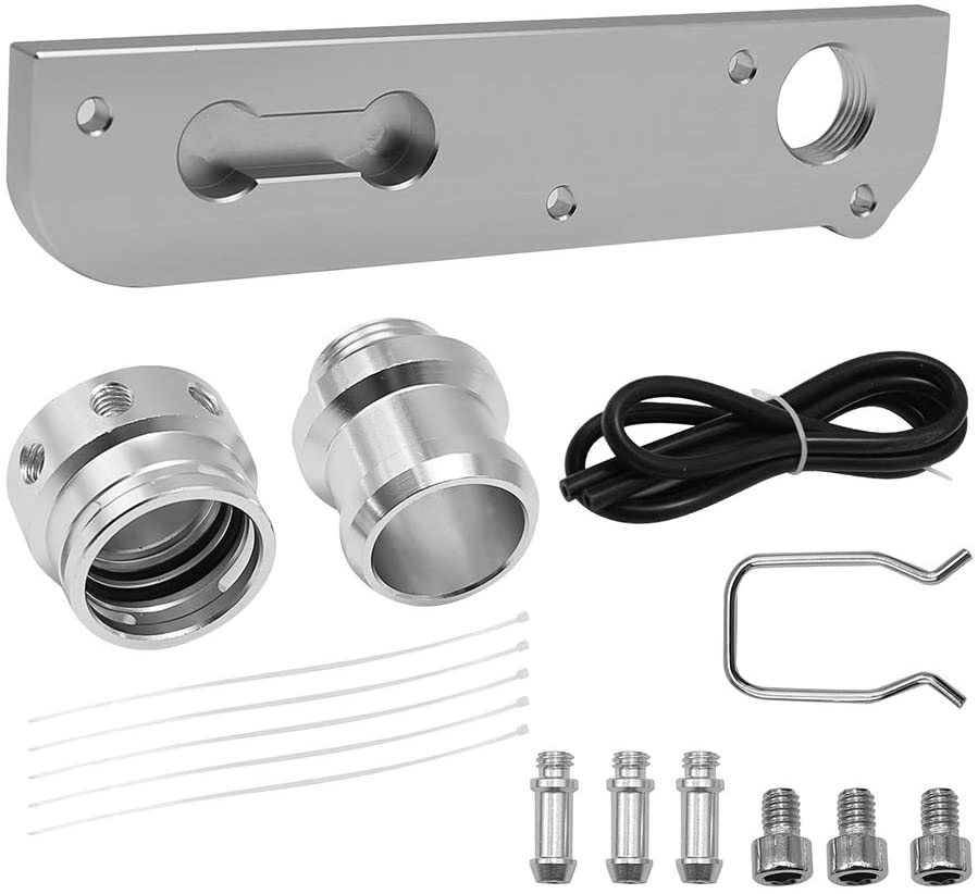 Solution Billet PCV Adapter with Boost Cap Kit Compatible with VW Audi 2.0T FSI Engines