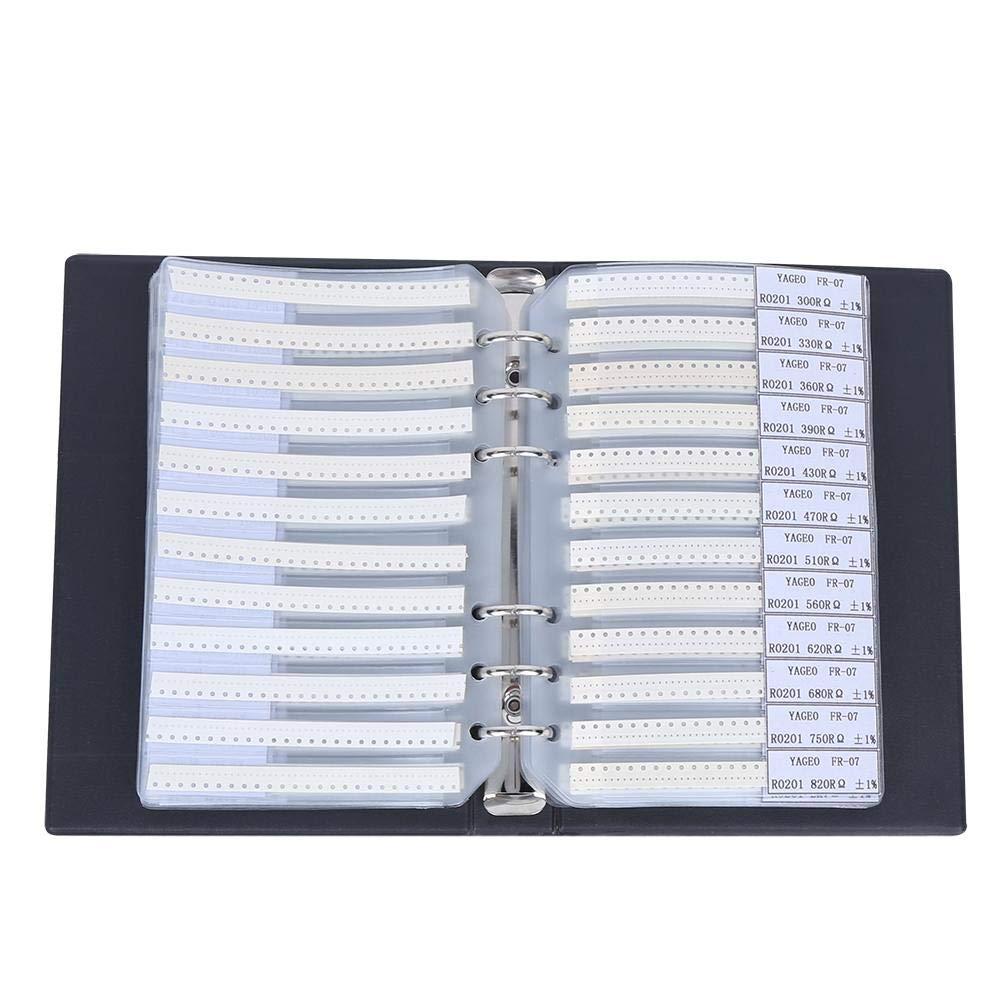170 Value Resistors Combo Sample Book Kit,Electronic Components Sample Book,for Electronic Professionals,Enthusiasts