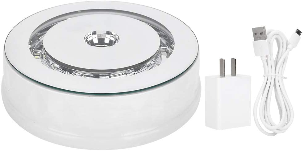Gojiny Rotating Display Stand, 360 Degree Electric Rotating Turntable Display Stand Product Display or Cake Display