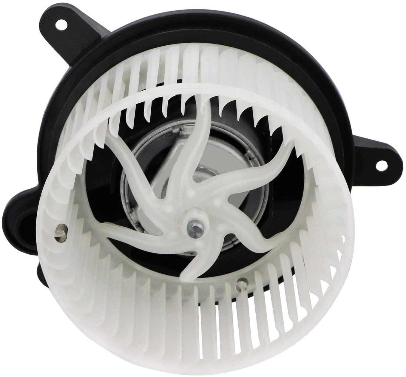 Dibanyou AC Heater Blower Motors with Fan HVAC Blower Motors Fits for Jeep Cherokee/Jeep Wrangler 1997-2001 OE # 700095 4886150AA