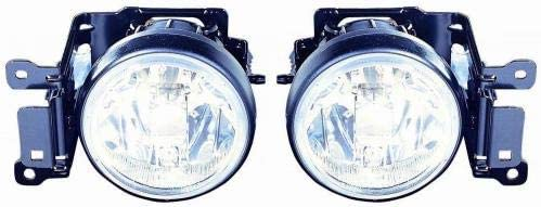 Go-Parts - PAIR/SET - for 2000 - 2004 Mitsubishi Montero Sport Fog Lights Lamps Assembly Replacement Housing / Lens / Cover - Left & Right (Driver & Passenger) MI2593111 MI2592111 MR496372 MR496371