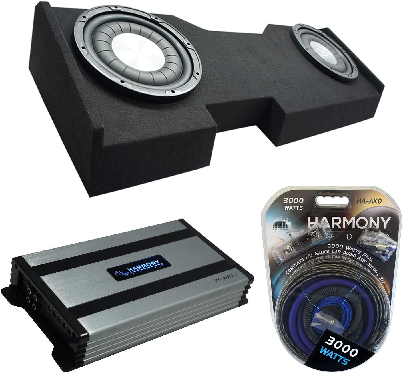 (2) Harmony Audio HA-F104 Subwoofer Dual 10
