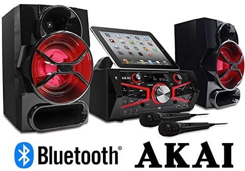 Akai KS5500-BT Karaoke Mini System 150 Watts CD&G with Lightning Effect Limited Edition