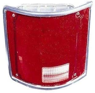 Go-Parts - for 1973 - 1991 GMC K25 Suburban Tail Light Lens - Right (Passenger) Side 5968330 GM2801122 Replacement 1974 1975 1976 1977 1978 1979 1980 1981 1982 1983 1984 1985 1986 1987 1988 1989
