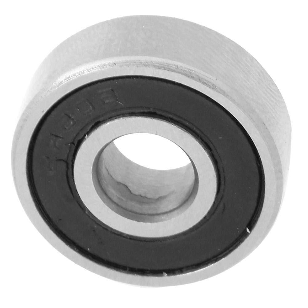 Universal Bearings, Ball Bearings, High Speed 10Pcs for Electric Motors Wheel Bearings(606-2RS)