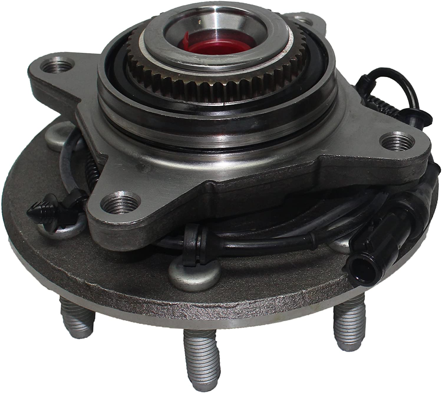 Detroit Axle - Front Wheel Hub and Bearing Assembly Replacement for 2004-05 F-150 4x4 7 Lug W/ABS