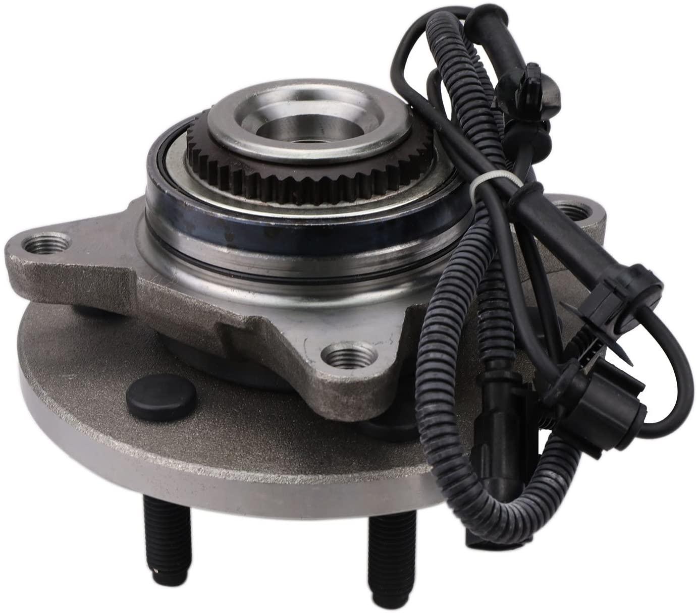 Bodeman - Front Wheel Hub & Bearing Assembly for 2011 2012 2013 2014 Ford F-150 SVT Raptor - 4WD