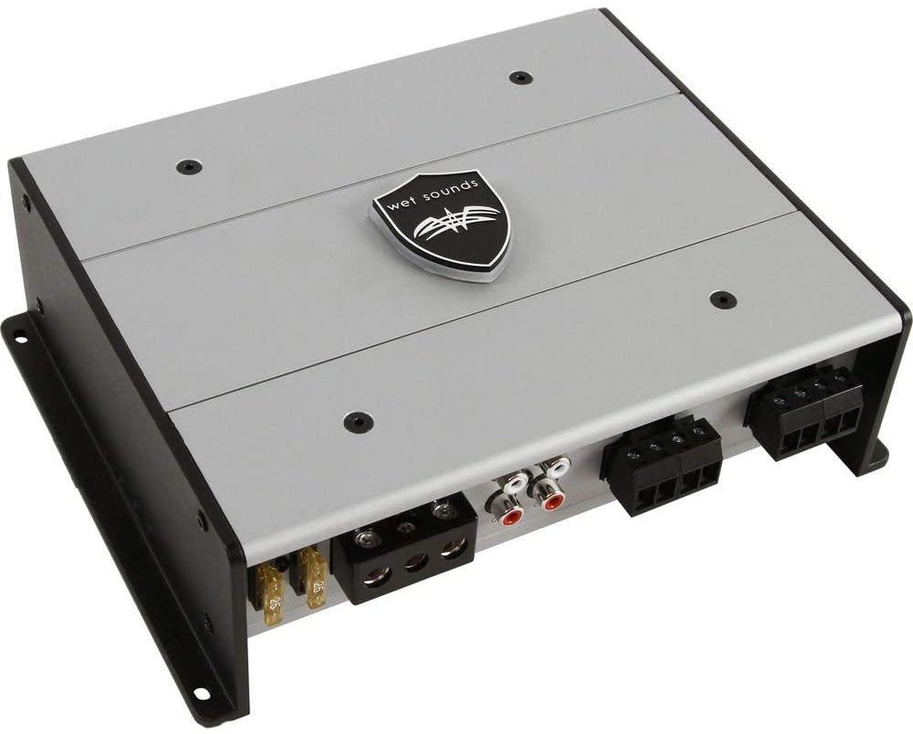 Wet Sounds HTX4: Class D 600 watt 4-Channel Amplifier (Renewed)